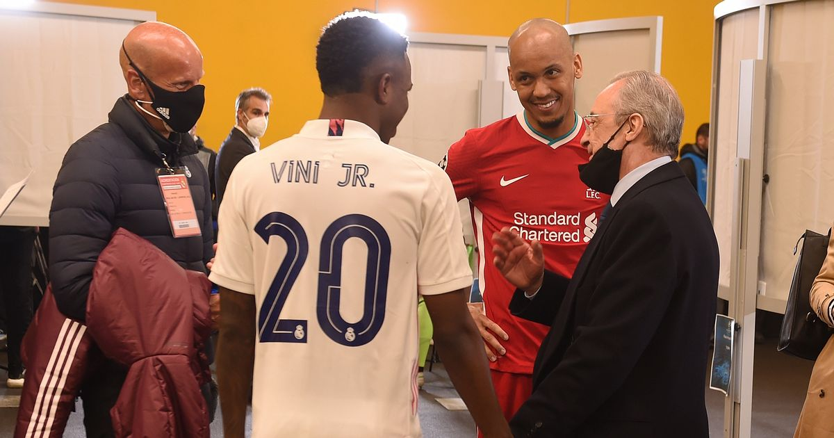 What Real Madrid president said to Fabinho after win over Liverpool